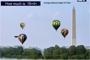 Addition game - Washington Monument - American Landmarks