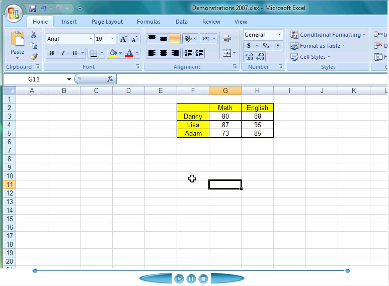 Creating a chart from your table of data in excel for Excel table design