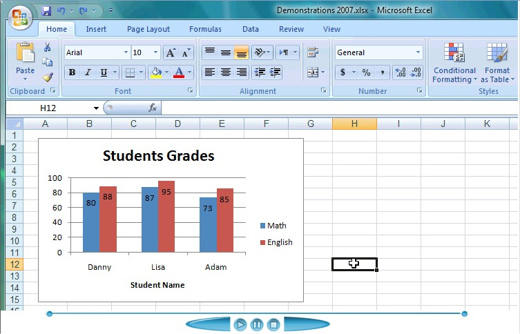 how to change colors of bars in excel graph