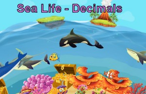 Sea Life - A game of rounding & place value of decimals