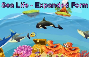Sea Life Expanded Form Game