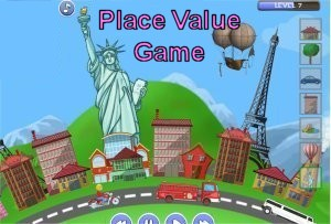 Town Creator Place Value Game