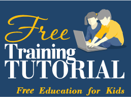 Free Training Tutorial - Online Education for Kids