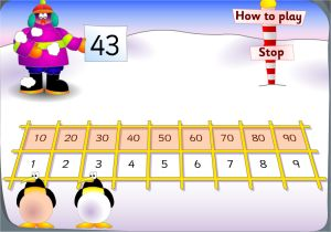 Penguins Place Value Game