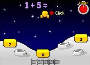 Addition Lunar Lander Game