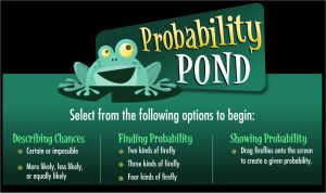 Online Probability Game for Kids - Probability Pond