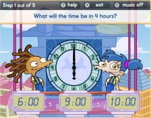 Telling Time Online Exercises