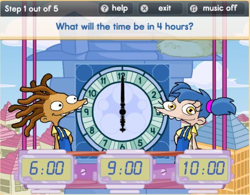Online Telling Time Games For Kids