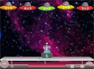 online math games for kids alien addition