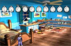 Interactive Telling Time Activity - Bedtime Bandits