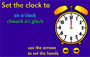 Online Telling Time Game