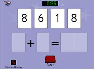 Sum Sense Addition Game