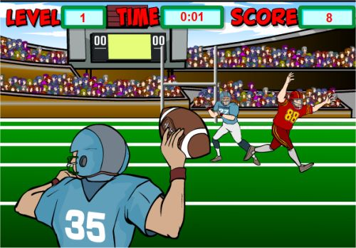 Fun Decimal Game Football Math Place Value