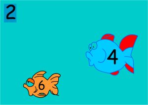 Fish Counting by 2's Game