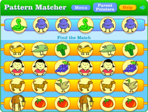 Online Math Sequences and Number Pattern Games for Kids