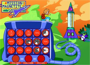 Percentage Game For Kids - Mission Magnetite