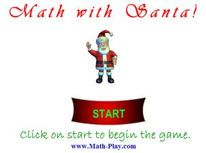 Online Decimal Multiplication and Division Game - Decimal Santa