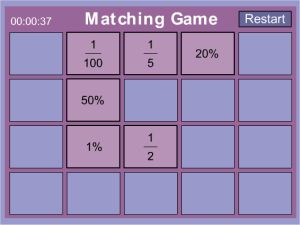 Online Percentage Games For Kids