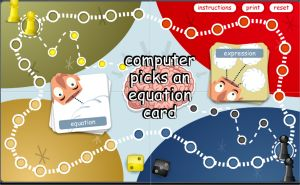 Algebra Noodle - Algebra Expressions and Equations Word Problems Game