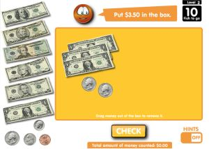 online math games with money