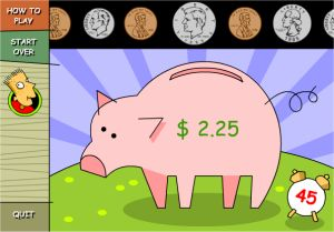 Interactive Money Game For Kids - Ed's Bank Game