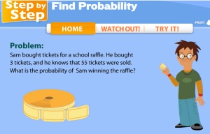 Probabilty as a fraction (Raffle Tickets)