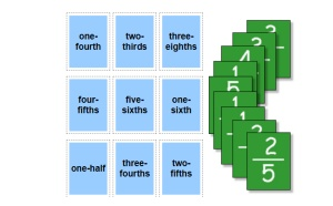 Fraction Matching With Words