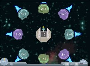 Meteor Multiplication Game