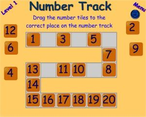 Number Track Game