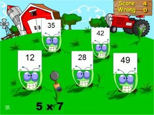Multiplication Game - Stun Attack