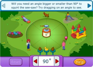 Squirt the dog - Angles Game
