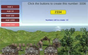 Place value expanded form game - Island village creator