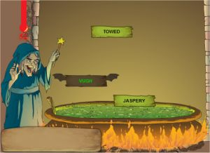 Fun Online Touch Typing Game - Magic Spells