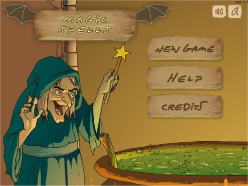 witch spell games online