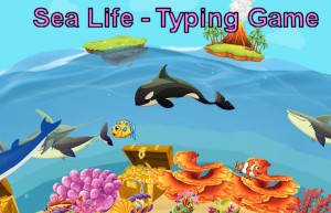 Sea Life - A great Typing Game