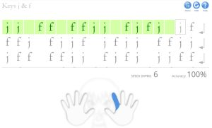 Free Typing Tutorial For Kids Online Touch Typing Lessons Dance Mat