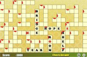 Easy Crossword Puzzle for Kids in 2nd and 3rd Grades - Online