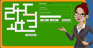 Free Crossword Puzzle For Grade 1 Kids Easy