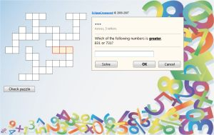 Comparing Numbers Crossword Puzzle Online Math For 2nd And 3rd Grade